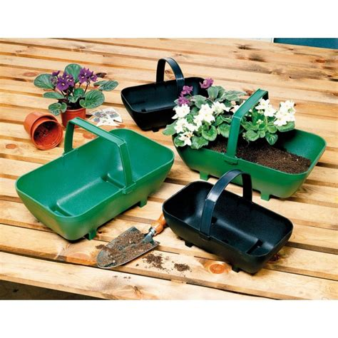 Trug Planter by Large Trug Planter Green