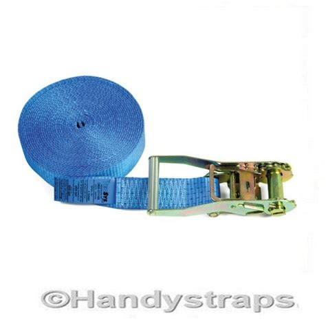 Tomeco 50mm X 4 Ton X 8 Meter Cargo Lashing J Hook Te7101 endless ratchet straps 8 meter x 50mm 5 tons blue at