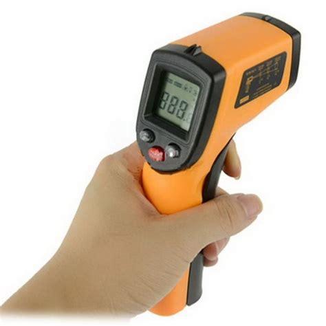 Termometer Laser Digital billig h 229 ndholdt digital termometer alt i testudstyr