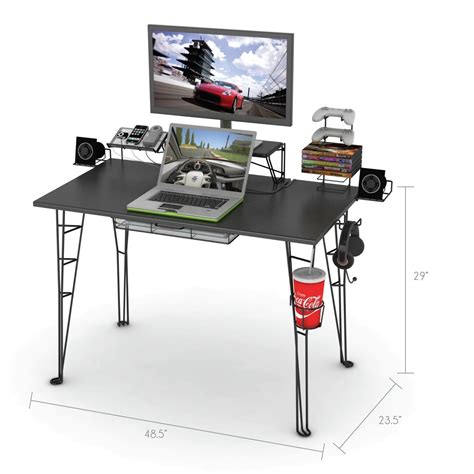 Roccaforte Ultimate Gaming Desk Ultimate Gaming Desk Roccaforte Gaming Desk Swordfish The Ultimate Pc Desk Computer For Any