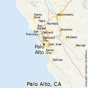 best places to live in palo alto california