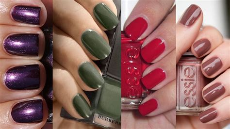 fall colors nails the ultimate color guide for fall nails