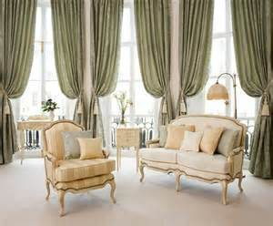 Curtain Ideas For Green Living Room Draw Curtains Ideas And Create You A Lively Atmosphere At