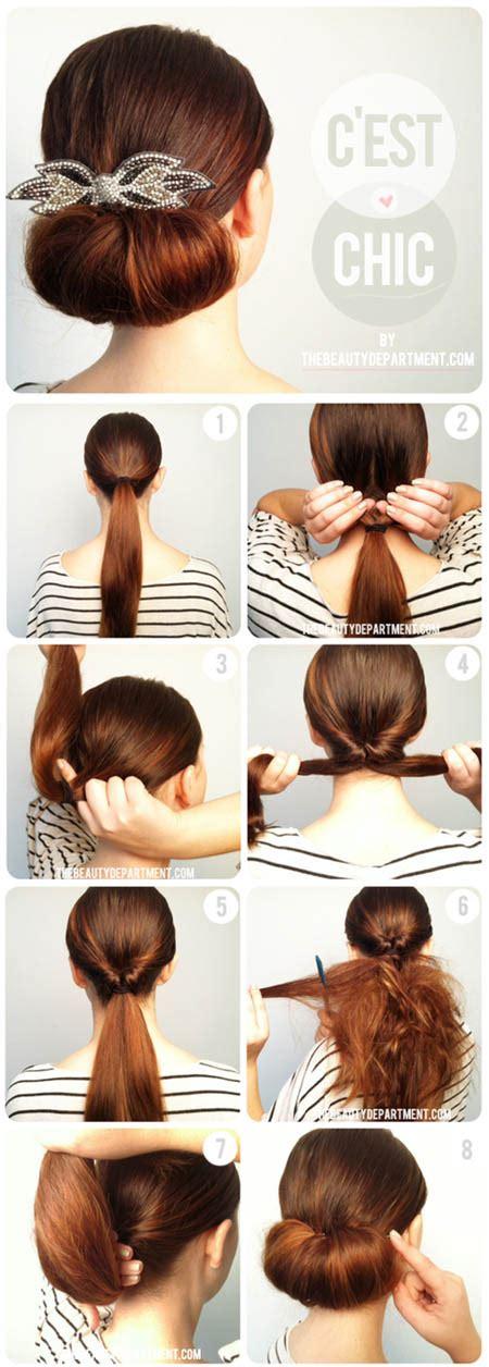 Bagaimana Cara Rambut Sendiri Mau Ke Pesta Kaamatan | foto cara ini gang ikat rambut buat lubang dan