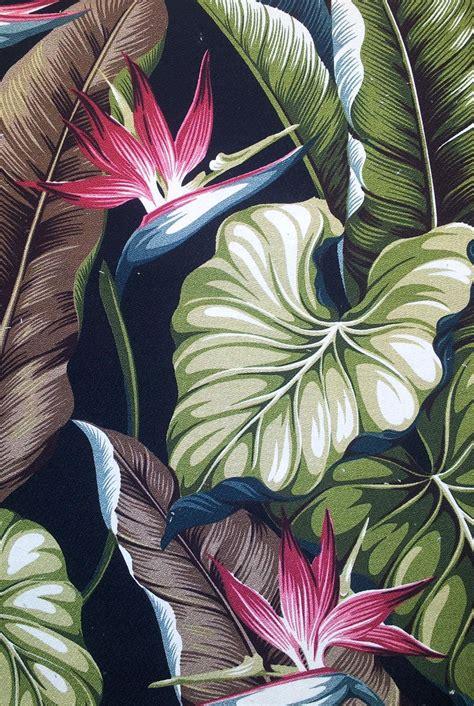 Bird Stripe Draped Top Sk big kahuna fabrics bird of paradise black interiordecorating