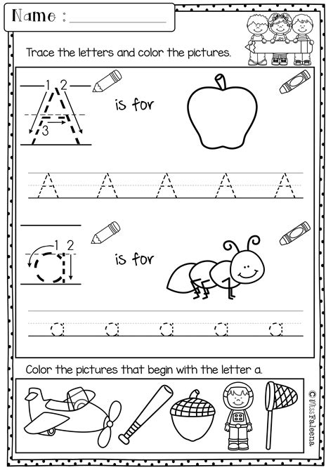 printable alphabet letters for grade 1 kindergarten morning work set 1 kindergarten morning
