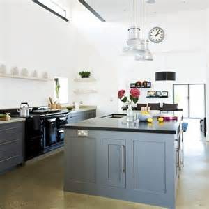 country kitchen units range cooker grey and islands on