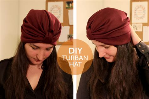 tutorial turban hat diy turban hat textures