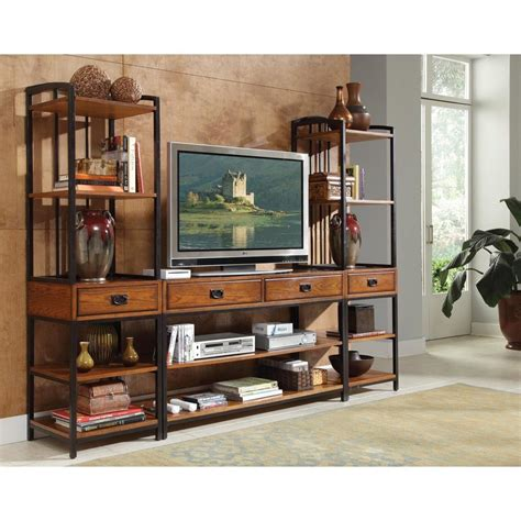 american iron wood display cabinet old retro minimalist living room bookshelf library shelves american iron vintage wood tv cabinet tv cabinet display