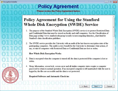 encryption policy template stanford whole disk encryption for windows it services