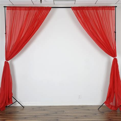 photobooth curtains voile backdrop 10x10 ft curtain photo booth background