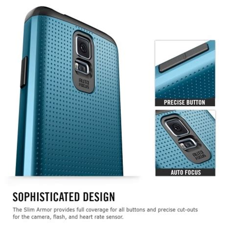 Spigen Slim Armor For Galaxy S5 spigen sgp slim armor for samsung galaxy s5 slate