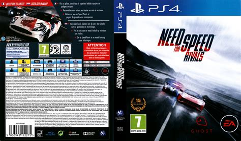 Ps4 Ps 4 Need For Speed Rivals need for speed rivals german ps4 cover german dvd covers
