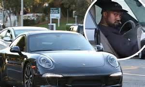 Calabasas Porsche Kanye West Shows New Porsche In Calabasas Daily Mail
