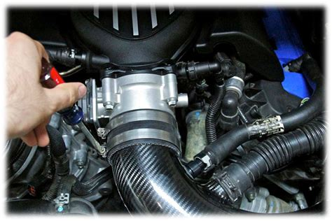 how to install tps how to install a ford racing 90mm throttle body on your