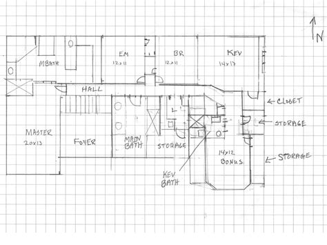 Graph Paper For Floor Plans | how to design color for a home that doesn t exist yet
