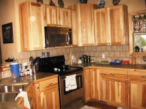Might also like this photos or back to rustic hickory kitchen cabinets