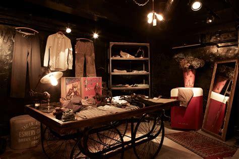 rugged clothing store wudai shiguo store hong kong 187 retail design