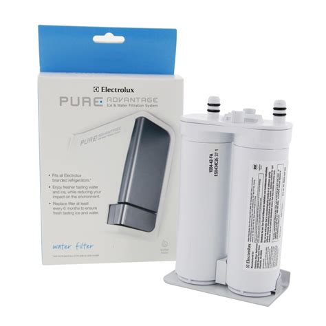electrolux replacement water filter for select electrolux u0026 frigidaire white ewf01 best electrolux ewf01 refrigerator filter and eafcbfair filter