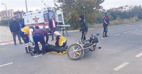 motosiklet ile minibues carpisti akdeniz haberleri