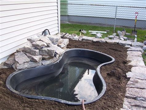 backyard fish pond kits 70 best deck pond images on pinterest ponds backyard