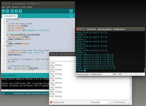 arduino code debug how to use breakpoints for debugging arduino stack exchange
