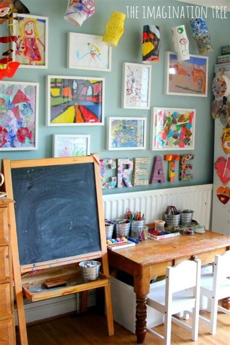 ways to display artwork 21 ways to display kids artwork children s art gallery at