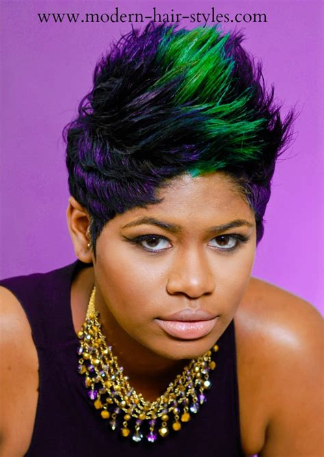 27 pieces hair weave short hairstyle for black women view image