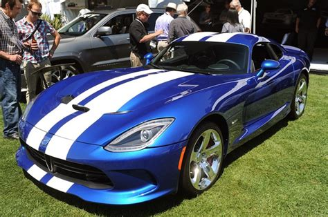 2013 viper gts launch edition takes a bow at quail motorsports gathering