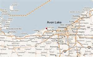 Avon Ohio Map by Avon Lake Location Guide