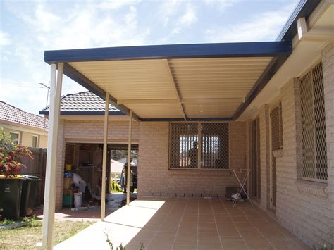 Flat Roof Awning by Amoroso Home Improvements Sydney Nsw Gallery Pergolas