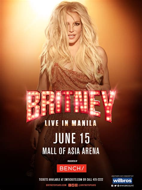 britney spears concert britney spears is coming to manila