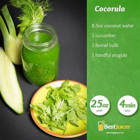 Juice Detox Coconut Water by Coconut Water With Arugula For Hydration Bestjuicer Net