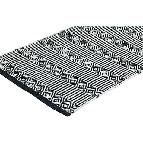 Wasser Braided 100 Cm Wbh 100 teppich 140 x 200 cm braid schwarz weiss bei le bon jour