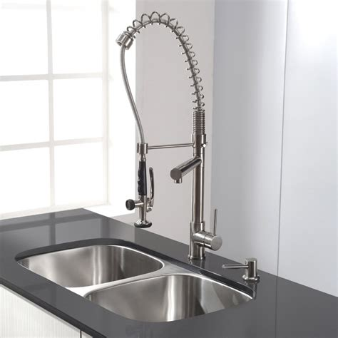 Best Pre Rinse Kitchen Faucet 3 compartment sink faucet with sprayer sink ideas
