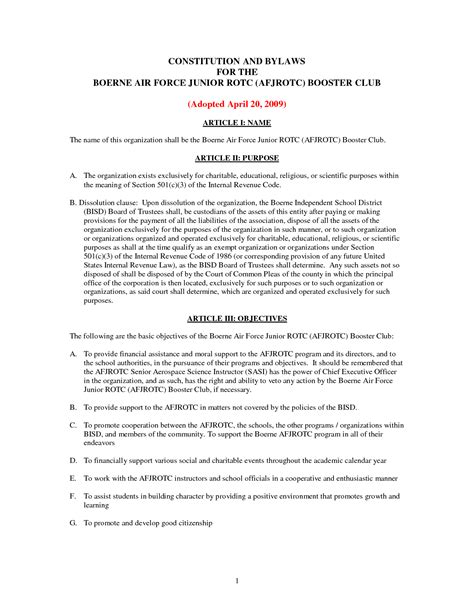 constitution and bylaws template best photos of 501 c 3 bylaws template non profit bylaws