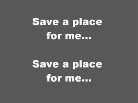 Lyrics To A Place Mathew West Save A Place For Me Lyrics