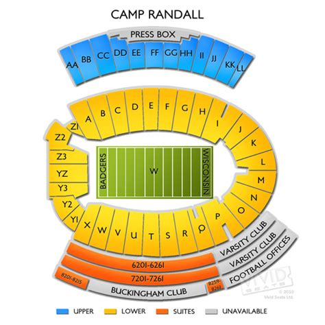 c randall student section c randall stadium tickets c randall stadium