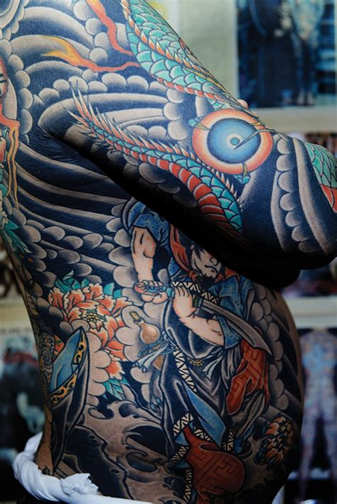 traditional japanese tattoo artist wabori traditional japanese