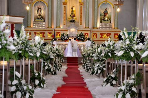Image result for catholic church wedding decorations