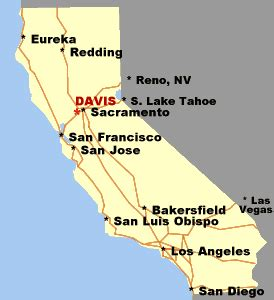 map of davis california linux users of davis lugod directions to the