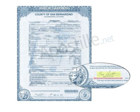 Of Records San Bernardino Ca Birth Certificate 71 Best Images About State Of California Sle Apostille On Santa
