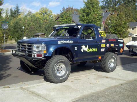 ford prerunner truck ford bronco desert race truck or prerunner