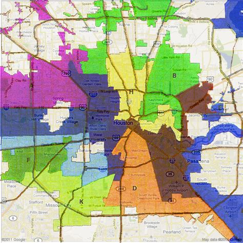 city of houston jurisdiction map houston city council redistricting and cohen burn