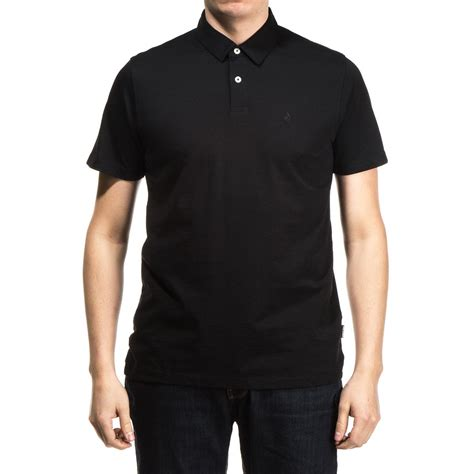 Polo T Shirt Volcom 6 volcom wowzer polo shirt black
