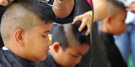 economic haircuts nyc shear defiance thai students rebel against mandatory