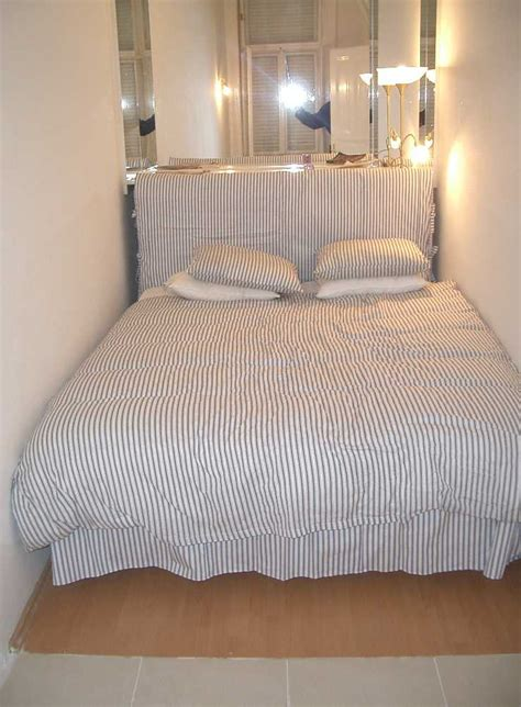 narrow bedroom pannonia available for rental