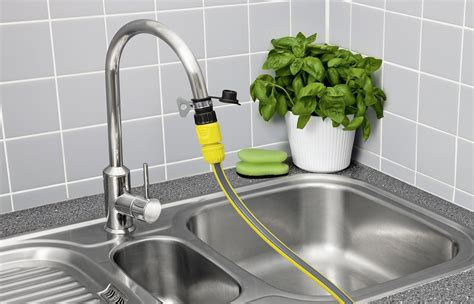 plant watering hose kitchen indoor hose connection set k 228 rcher uk