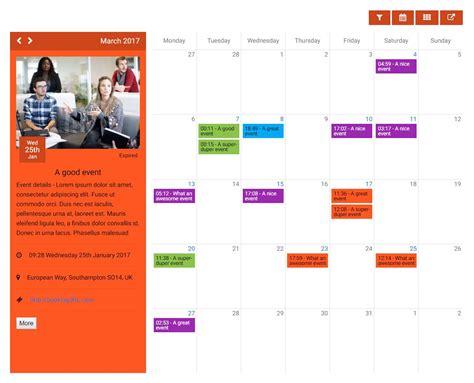 event calendar kwik event calendar by kwikbitzonline codecanyon