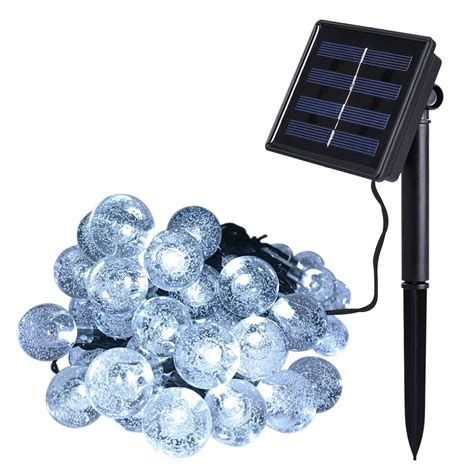 Outdoor Solar Power Decorative String Lights Anko 30 Led Solar Powered String Lights Patio
